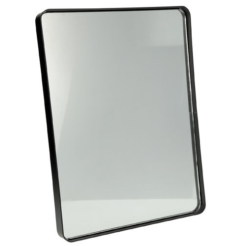 "Wall rectangular mirror ""Fabric"", iron board, 40x30x3 cm"