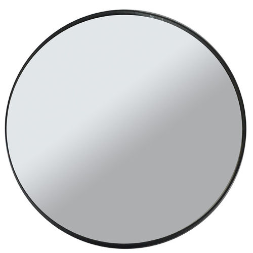 "Round wall mirror ""Mood"", iron board, cm 40x3"